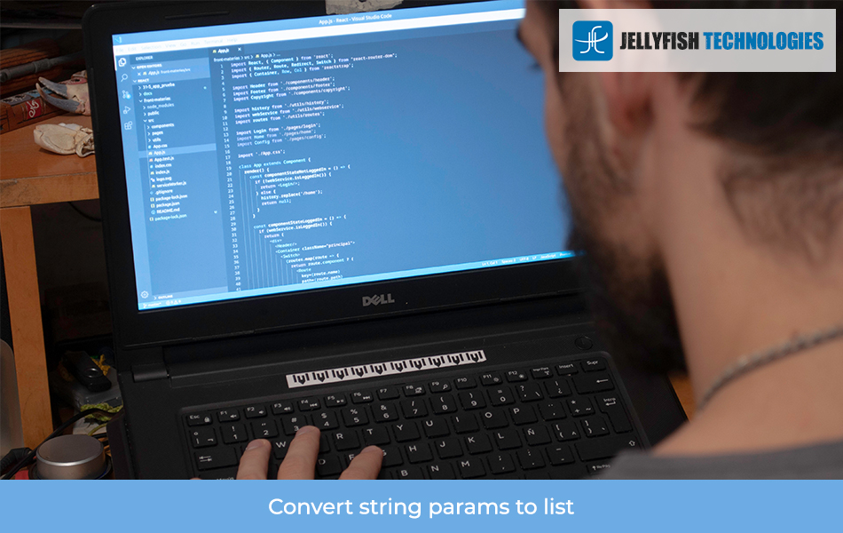 Convert string params to list
