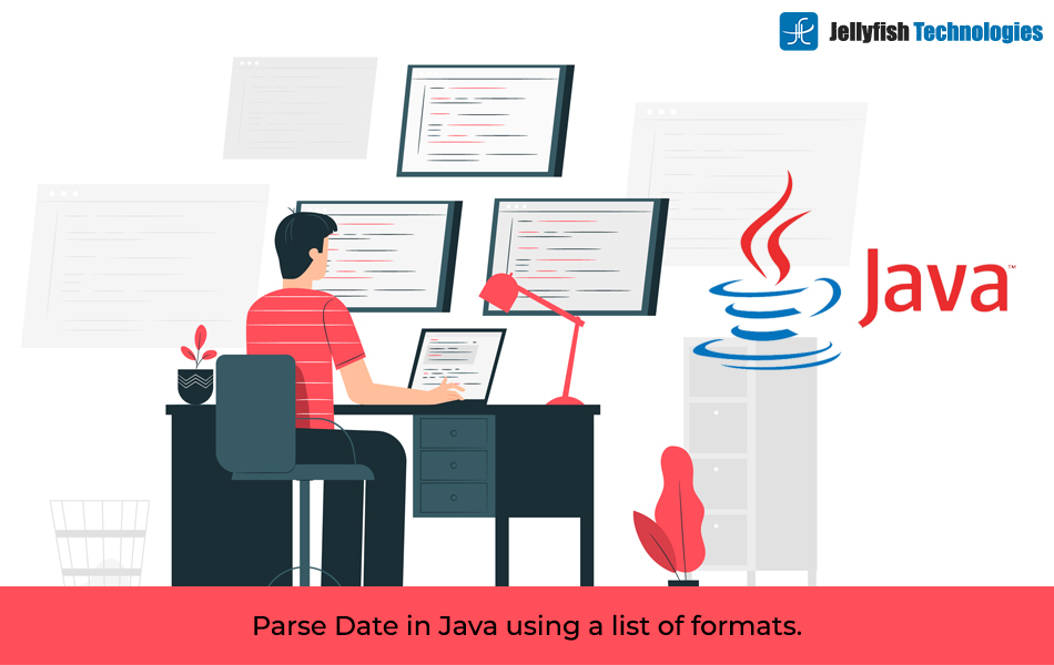 Parse Date in Java using a list of formats.