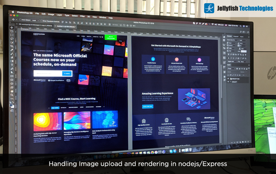 Handling Image upload and rendering in nodejs/Express
