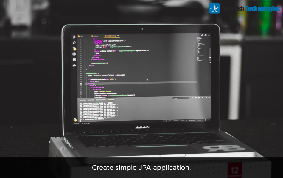 Create simple JPA application.