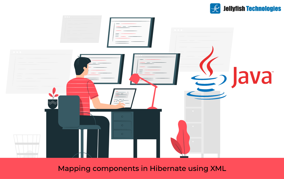 Mapping components in Hibernate using XML