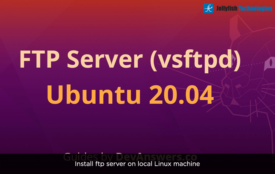 Install ftp server on local Linux machine