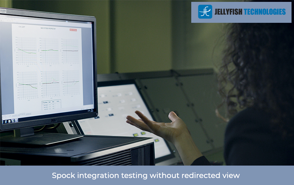 Spock integration testing without redirected view