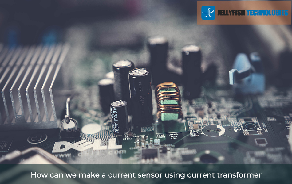 How can we make a current sensor using current transformer