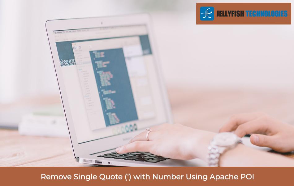 Remove Single Quote (') with Number Using Apache POI