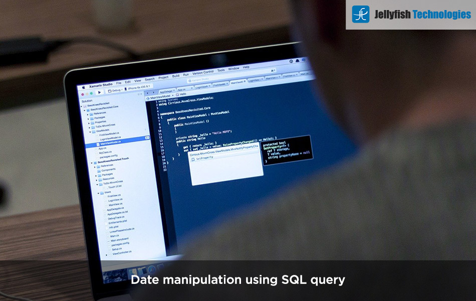 Date manipulation using SQL query