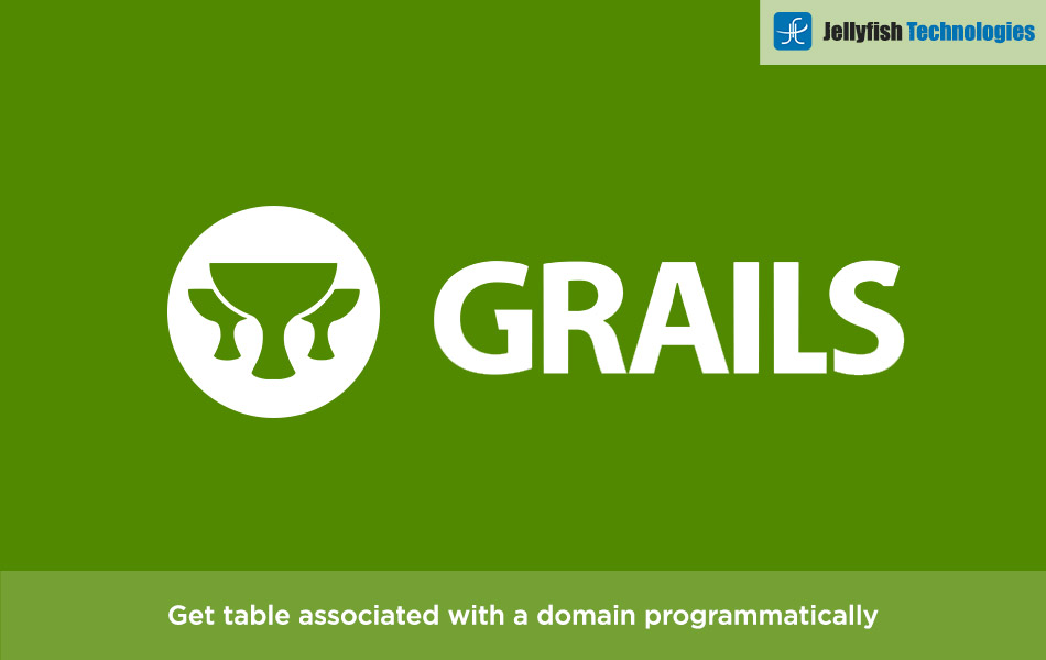 Get table associated with a domain programmatically