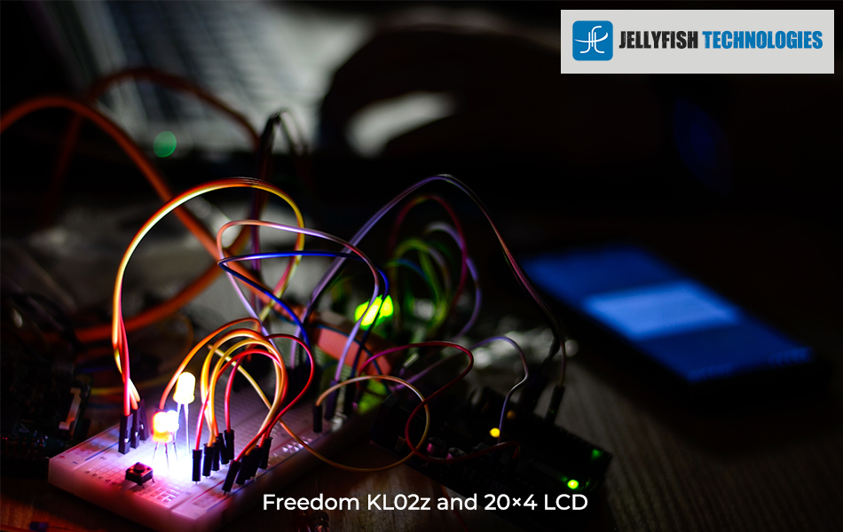 Freedom KL02z and 20×4 LCD