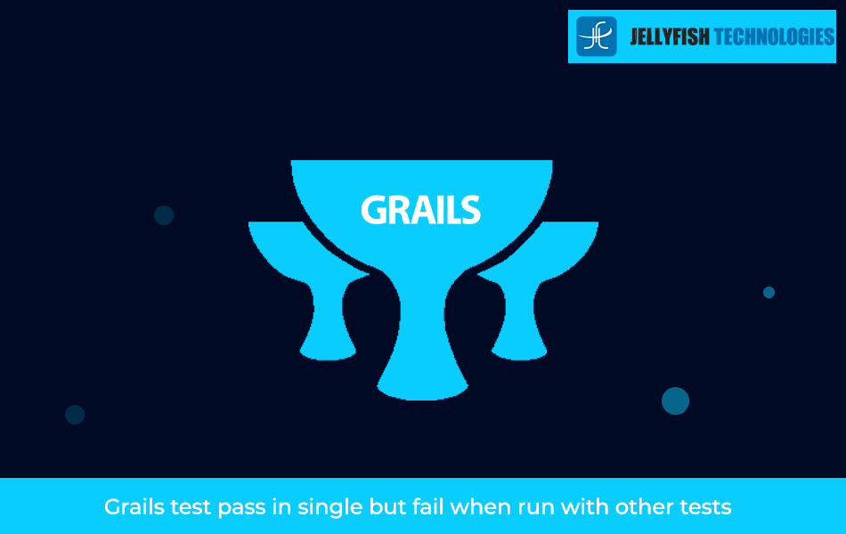 Grails test pass in single but fail when run with other tests