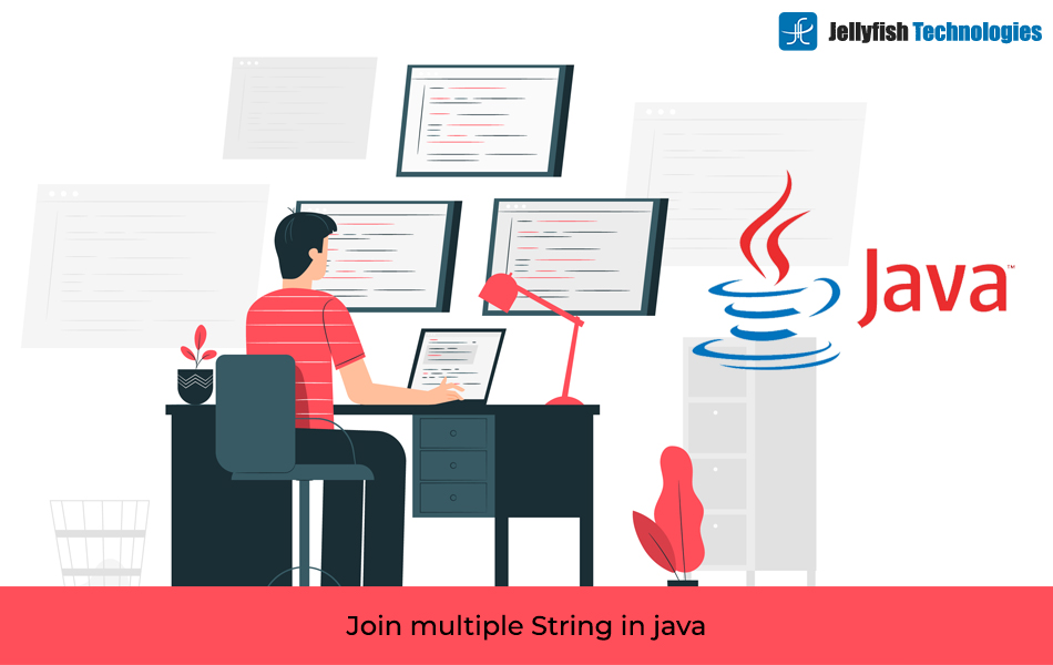 Join multiple String in java