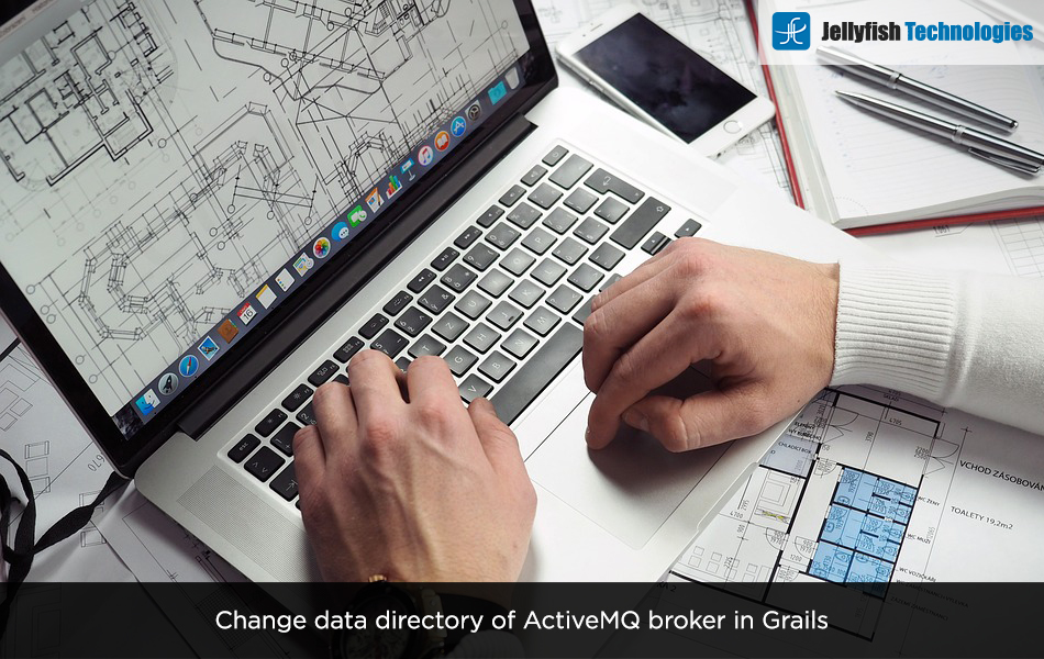 Change data directory of ActiveMQ broker in Grails