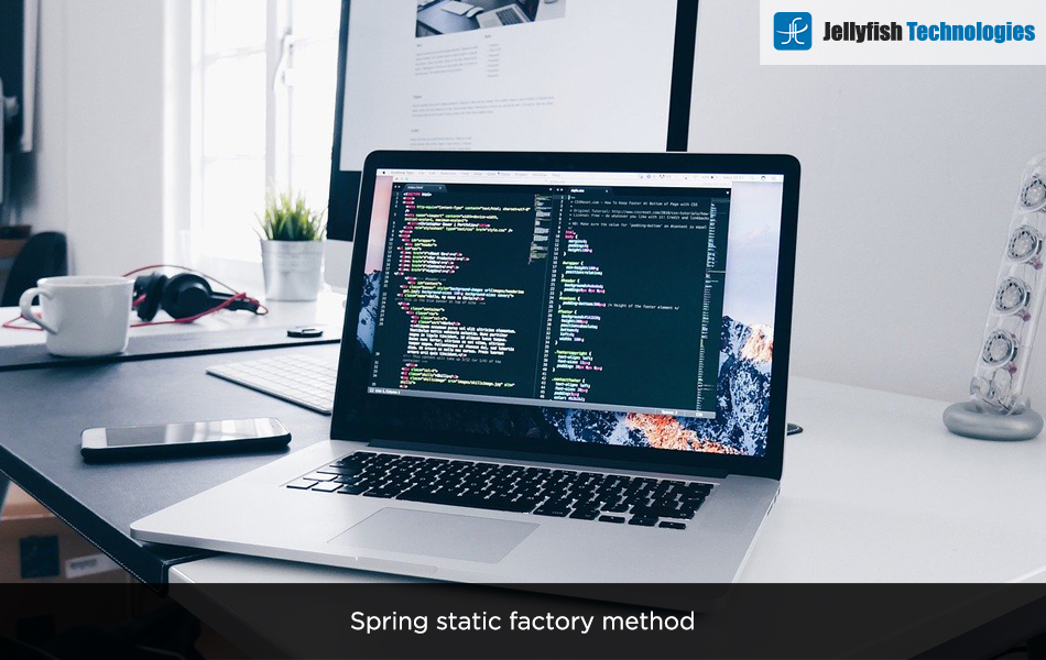 Spring static factory method