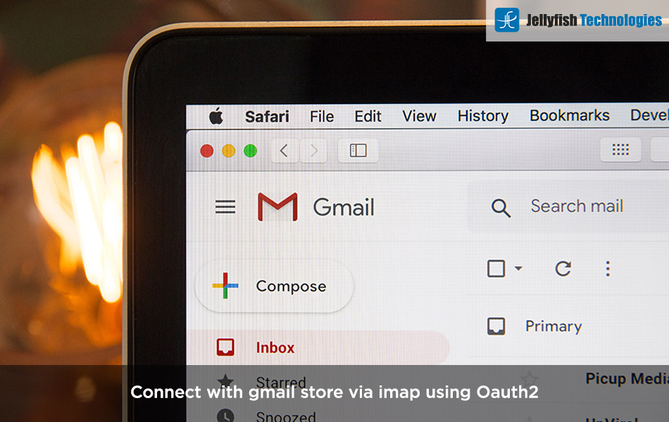 Connect with gmail store via imap using Oauth2