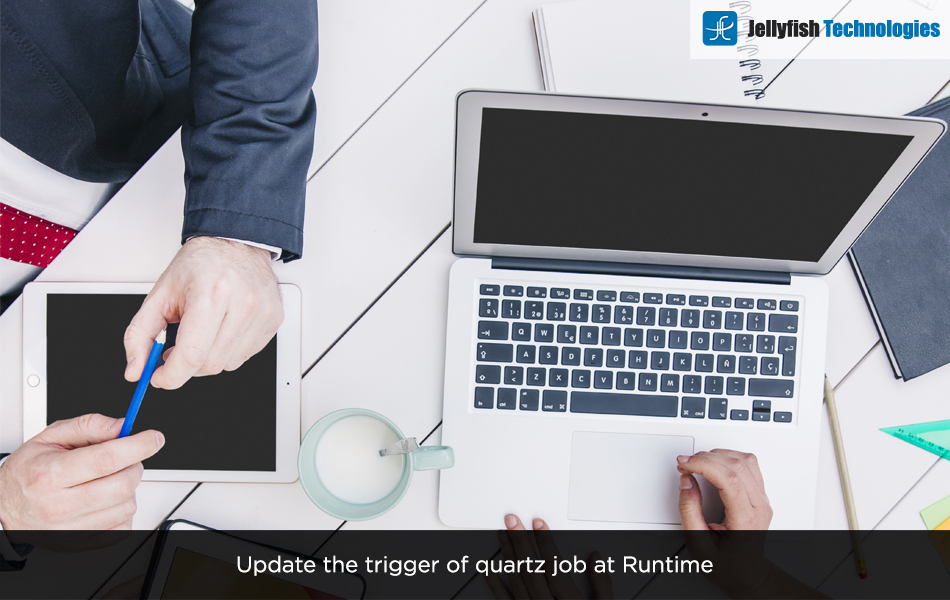 Update the trigger of quartz job at Runtime