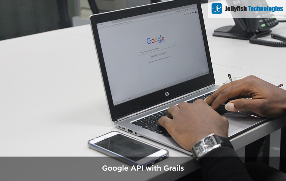 Google API with Grails