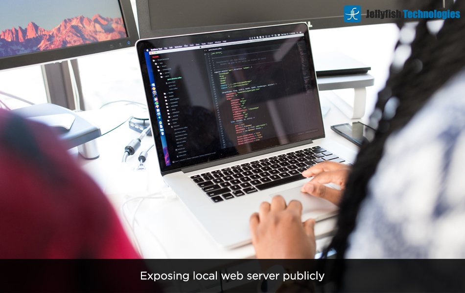 Exposing local web server publicly