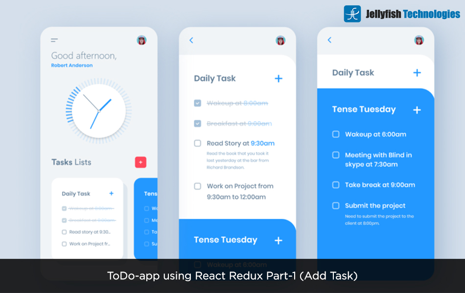 ToDo-app using React Redux  Part-1 (Add Task)