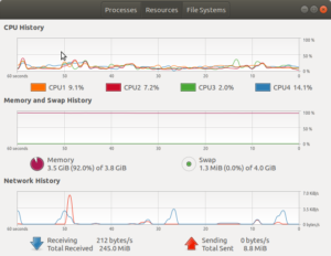 Prevent Ubuntu from freezing when its RAM is full