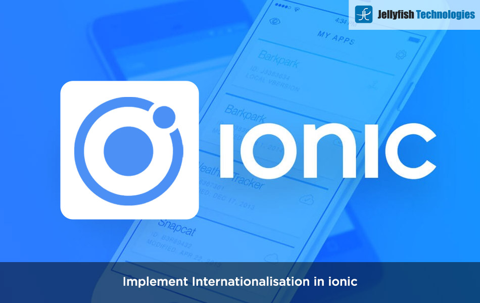 Implement Internationalisation in ionic