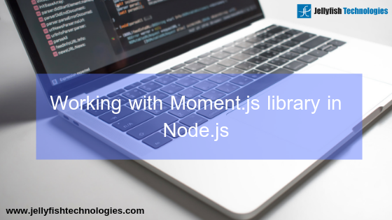 Working with Moment.js library in Node.js