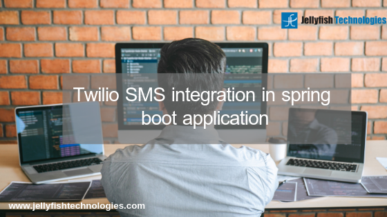 Twilio SMS integration in spring boot application